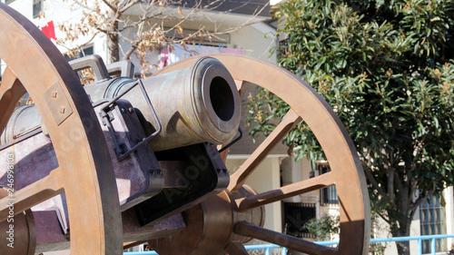 Photo 浜川砲台の大砲