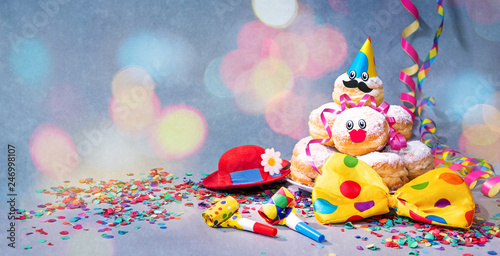 Spoed Fotobehang Carnaval Colorful carnival or birthday background