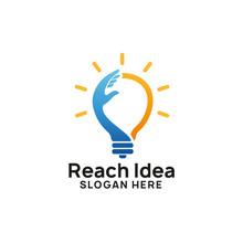 Creative Reach Idea Logo Desig...