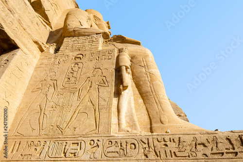 Fotografia, Obraz  Entrance of Great Temple of Abu Simbel, Egypt