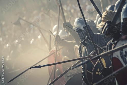 Fotografia  Viking battle