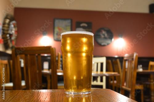 Fotografie, Obraz  Glass beer, Ale - UK