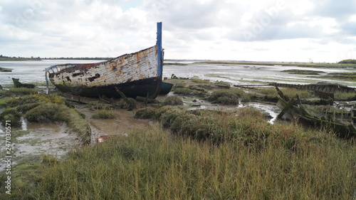 Photo Derelict Yachts and Boats on Essex Coastline