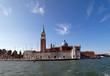 La isla de San Giorgio Maggiore,Venecia.