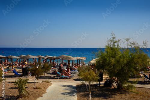 Платно Ellie Beach is the nearest beach to Rhodes Town and is popular with locals and tourists alike