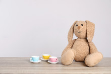 Adorable Plush Bunny And Toy T...
