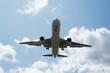 離陸するジェット旅客機