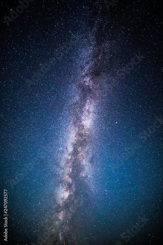 Valokuva Milky Way and starry sky background