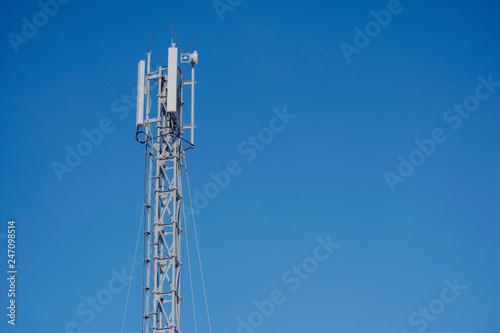 mast radio transmissions cellular. Fototapete