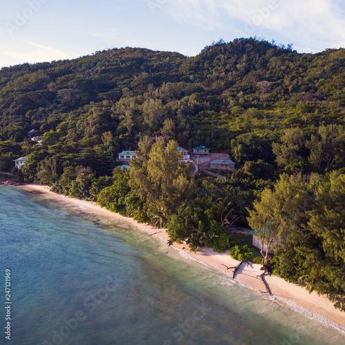 Fototapety, obrazy: Coast of Seychelles island, Praslin