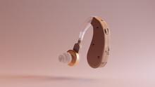 Behind The Ear Hearing Aid 3d ...