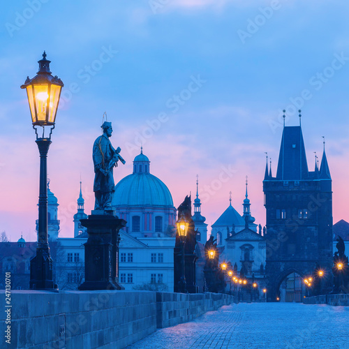 Plakat Most Karola w Pradze
