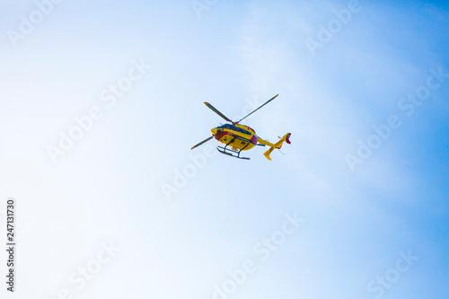 Tuinposter Helicopter Rescue en Bretagne