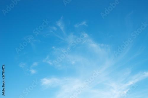 In de dag Ochtendgloren Sky with clouds