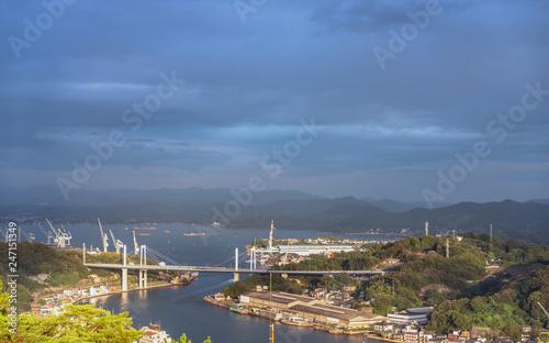 Foto op Canvas Asia land 尾道と向島の風景