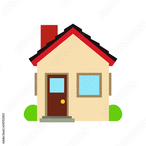 Home house emoji vector