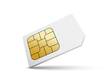 Sim Card Vector Mobile Phone I...