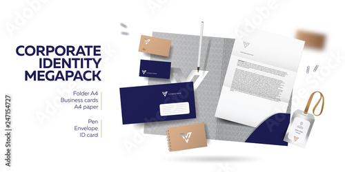 Photo Corporate branding identity design