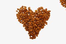Love Coffee, Heart Shape  - Me...