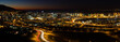 canvas print picture - Cape town night
