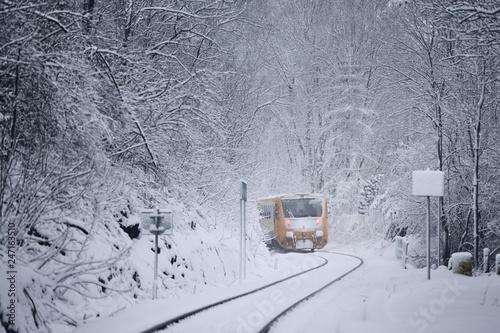 Papiers peints Pays d Afrique Railway in winter