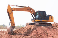 Backhoe Used In Construction,e...