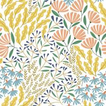 Cute Spring Seamless Pattern