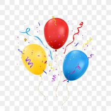 Balloons Isolated. Vector Illu...