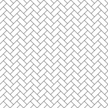 Subway Tile Seamless Pattern -...