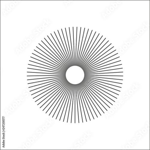 Tapety Geometryczne  linie-promieniowe-abstrakcyjny-element-geometryczny-szprychy-promieniujace-paski