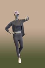 Full-length Female Mannequin.