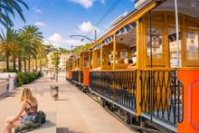 Famous Old Train In Port De So...