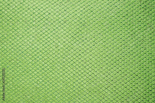 Fotografie, Obraz  green fabric textured  background