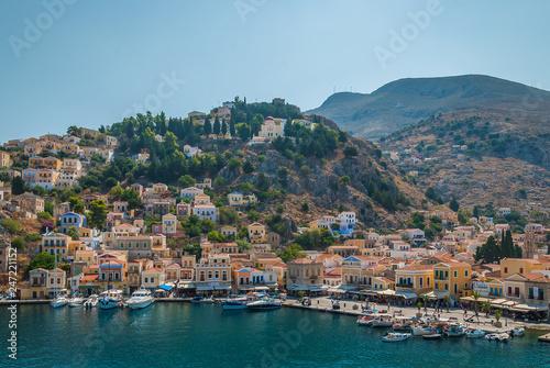 Fotobehang Mediterraans Europa Symi, Dodecanese island, Greece
