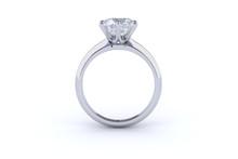 Solitaire Diamond Engagement R...
