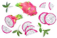 Dragon Fruit, Pitaya Or Pitaha...