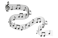 Music Notes. Vector Illustrati...