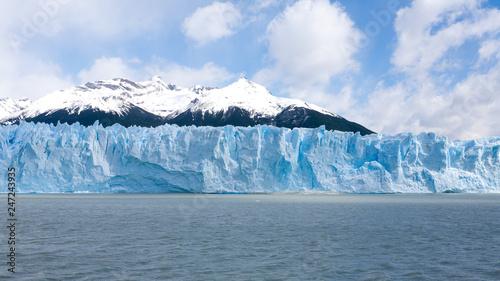 Poster Glaciers Perito Moreno glacier view, Patagonia scenery, Argentina