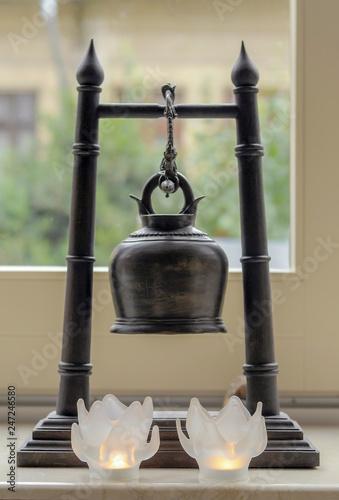 Fotografia  Buddhist bell