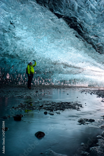 Photo  In the Glacier