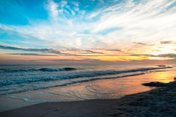Sunset Over the Gulf Coast