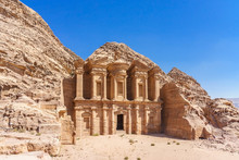Famous Facade Of Ad Deir In An...
