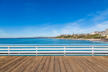 A View From San Clemente Pier, Southern California
