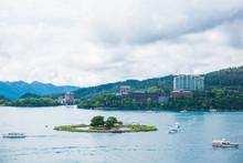 Lalu Island Is A Small Island In Sun Moon Lake