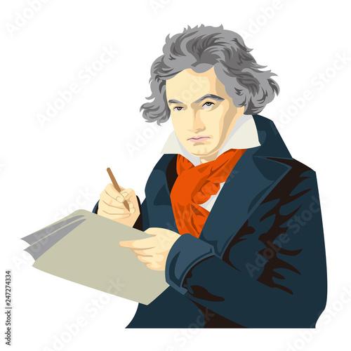 ベートーベン Canvas Print