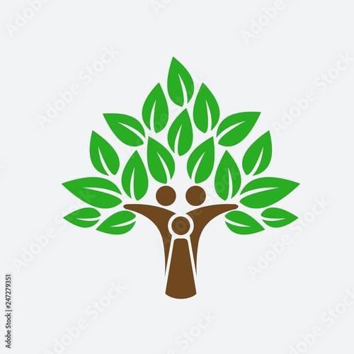 Tablou Canvas Tree of Life vector