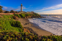 Pigeon Point Lighthouse On Nor...