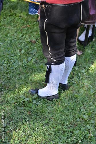 Fotografie, Obraz  Abito tradizionale tirolese