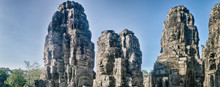 Buddha Faces In Bayon Temple I...