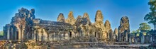 Bayon Temple In Angkor Thom. S...